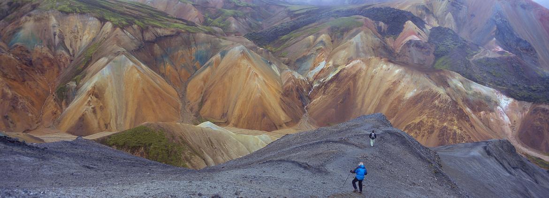 Het IJslandse binnenland