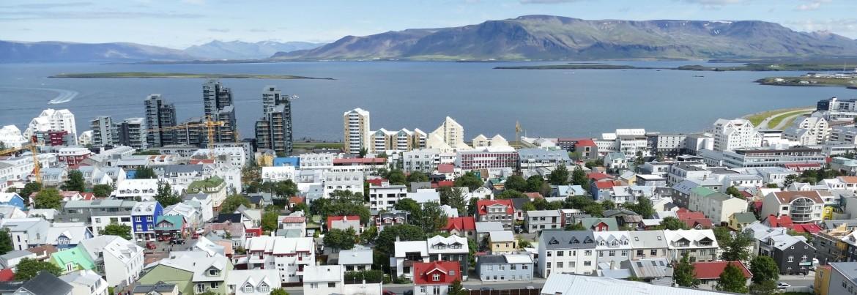 De hoofdstad van IJsland, 170 .000 inwoners