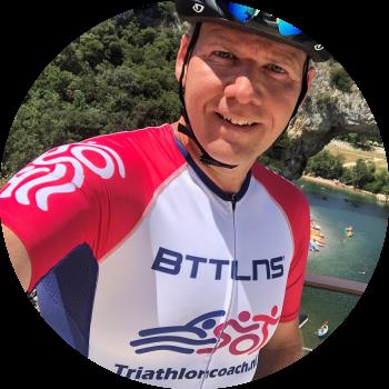 Triathlon coach maar tevens ook zwemtrainer, fietscoach en hardloopcoach Boudewijn Leunissen.