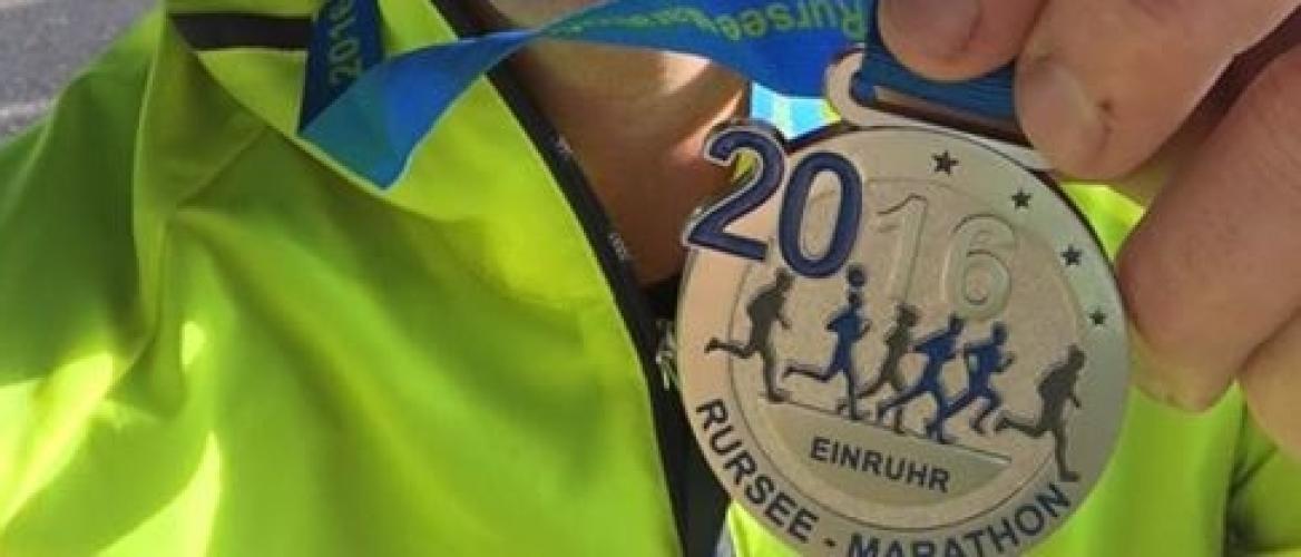 Wedstrijdverslag: Rursee marathon 2016