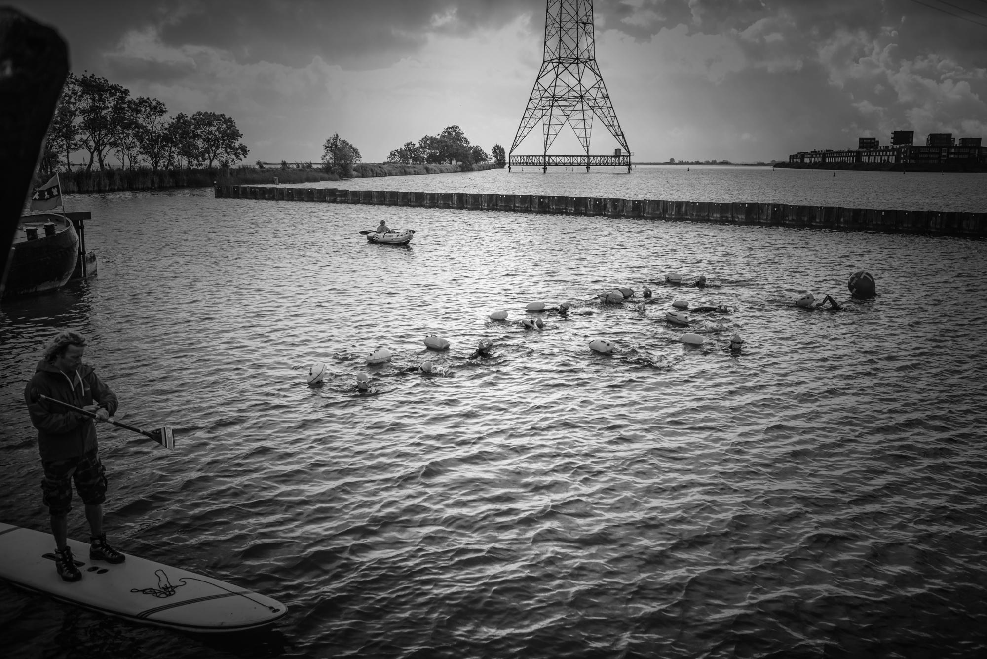 The Island Triatlon zwemmen