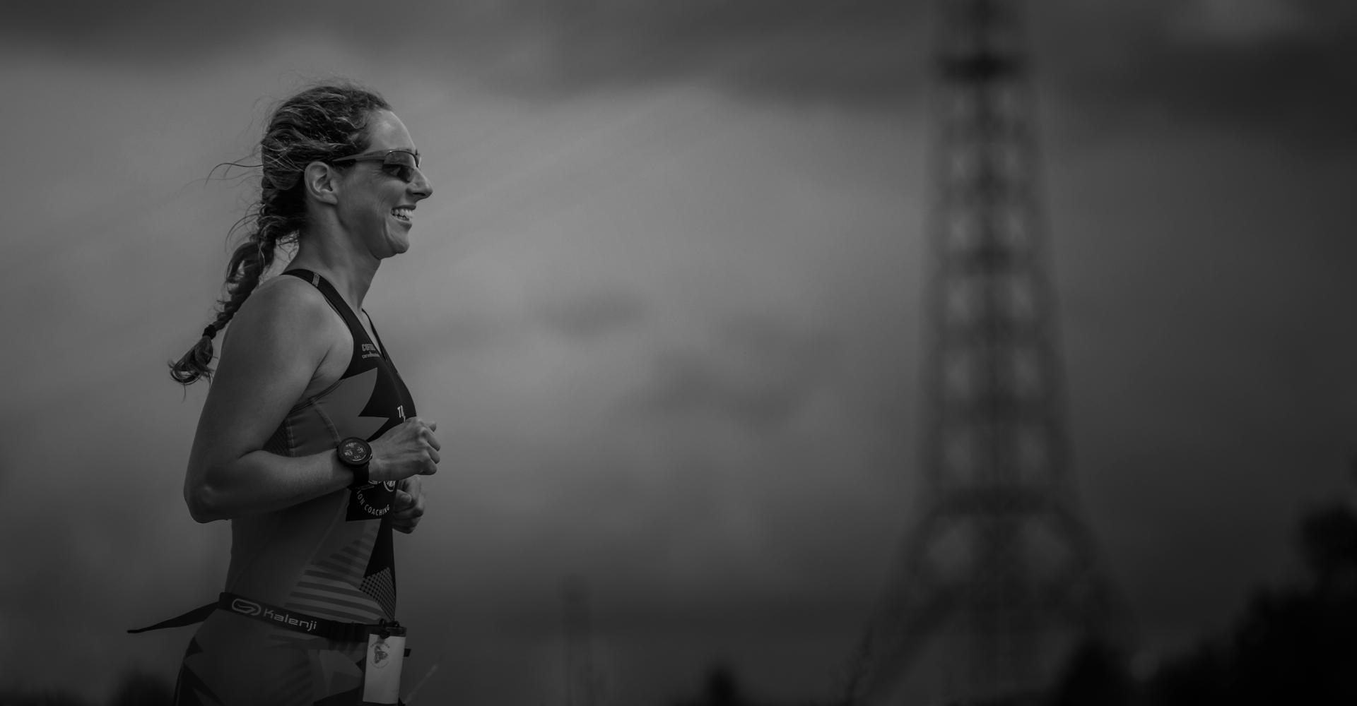 Runner Trispiration Island triathlon