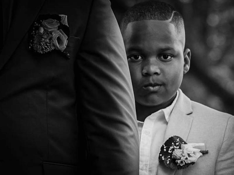 Trouwfotograaf Daan uit Zuid-Holland kinderen bruiloft