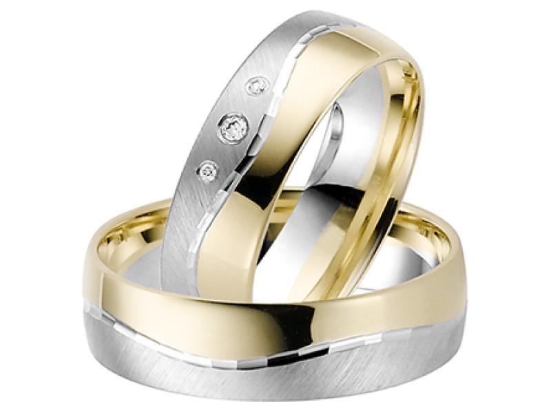 twee kleuren ring