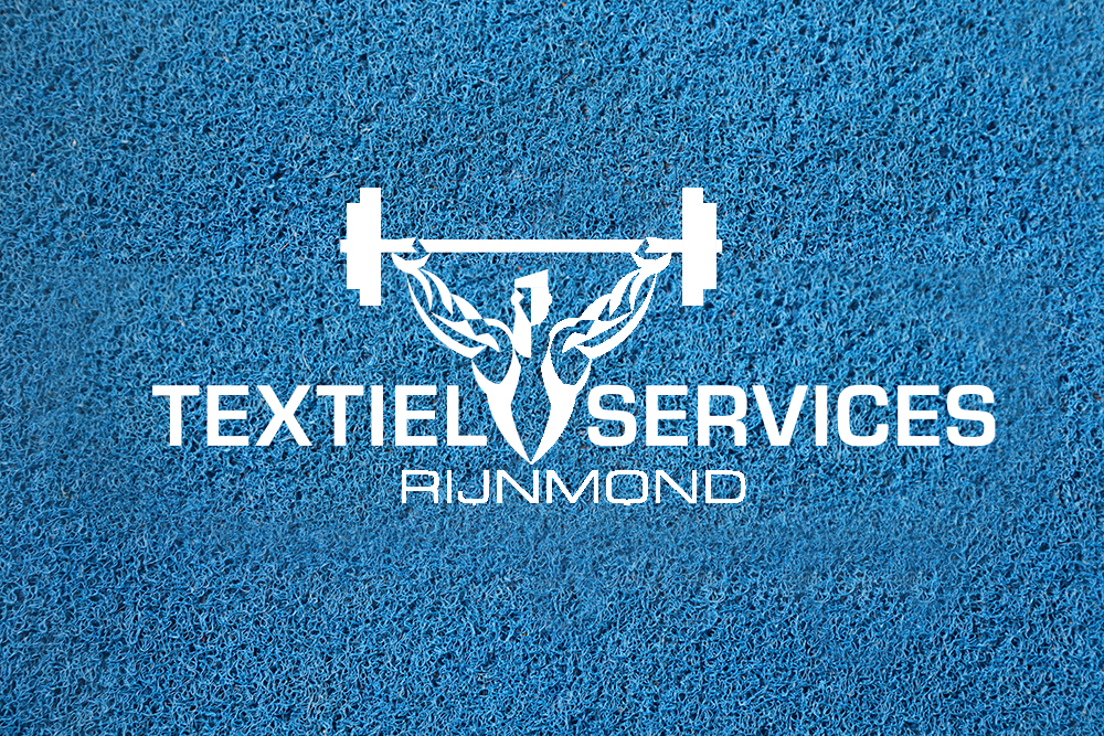 Schoonloopmat met logo - logomatten - Textiel Services Rijnmond