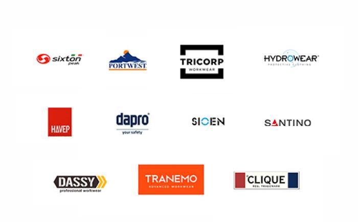 Textiel Services Rijnmond is een onafhankelijke dealer van gerenommeerde bedrijfskleding merken