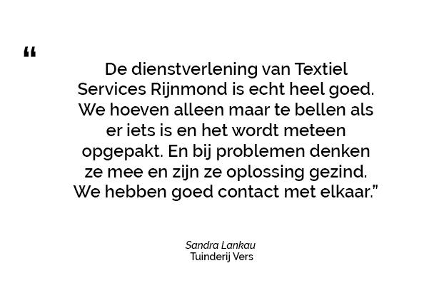 Tuinderij Vers over de sterke samenwerking met Textiel Services Rijnmond