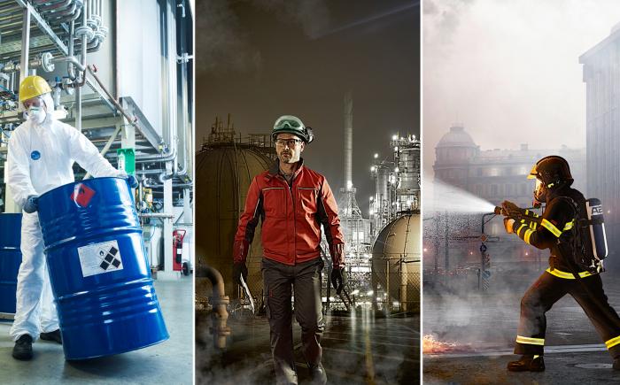 Voor elk type werkkleding kies je voor Textiel Services Rijnmond