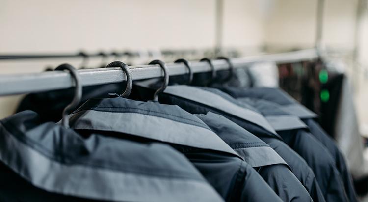 Werkkleding winkel - showroom - Textiel Services Rijnmond