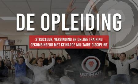Structuur, verbinding en online training gecombineerd met keiharde militaire discipline