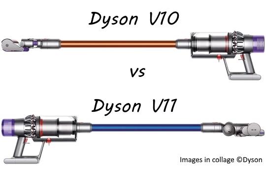 dyson v10 vs v11