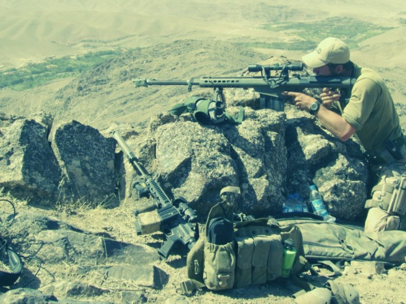 Sniper focus weerbaarheid