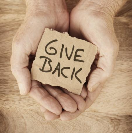 Give back en weerbaarheid