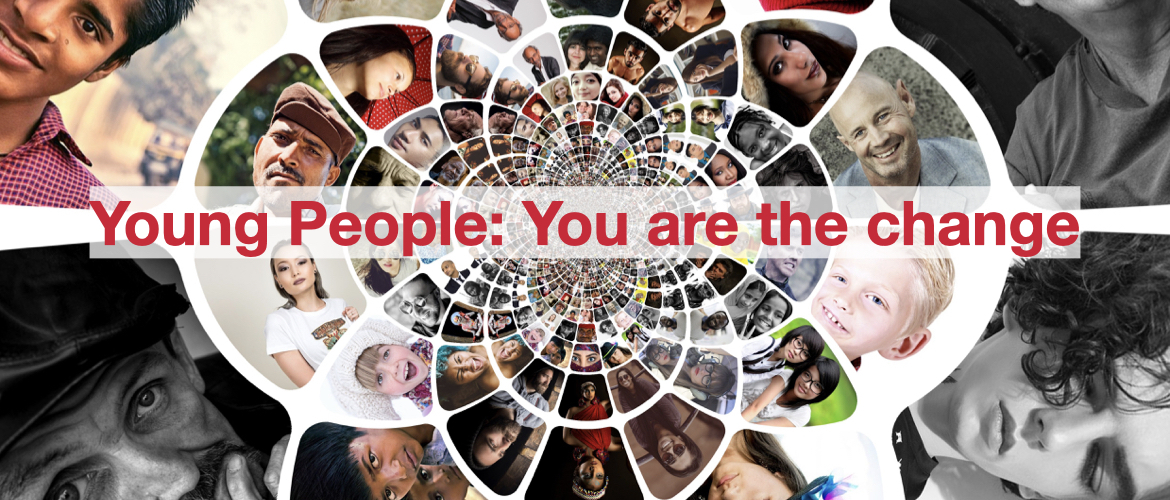 Special Message!! You are the change
