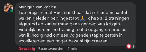 University of Excellence - Review Monique van Zoelen