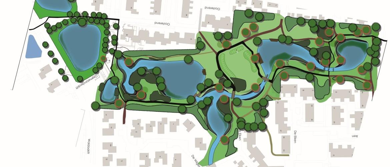 Ontwerptekening Geert Reinderspark