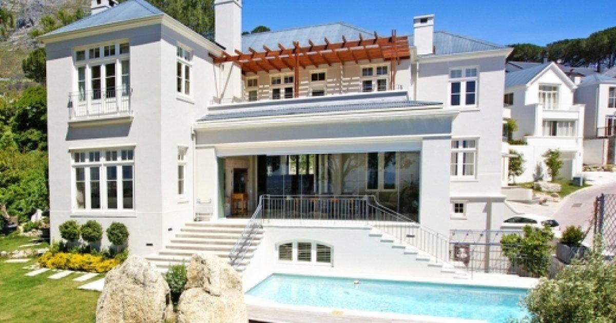 Villa Zuid Afrika : Villa leeuwenzicht luxe villa in higgovale kaapstad voor personen