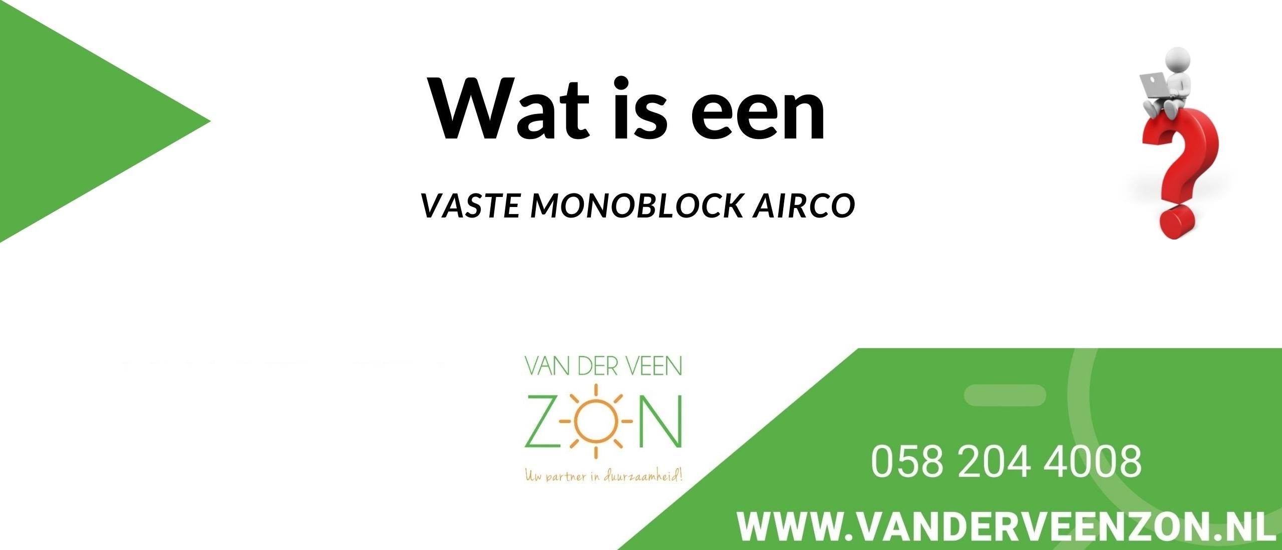 monoblock airco's