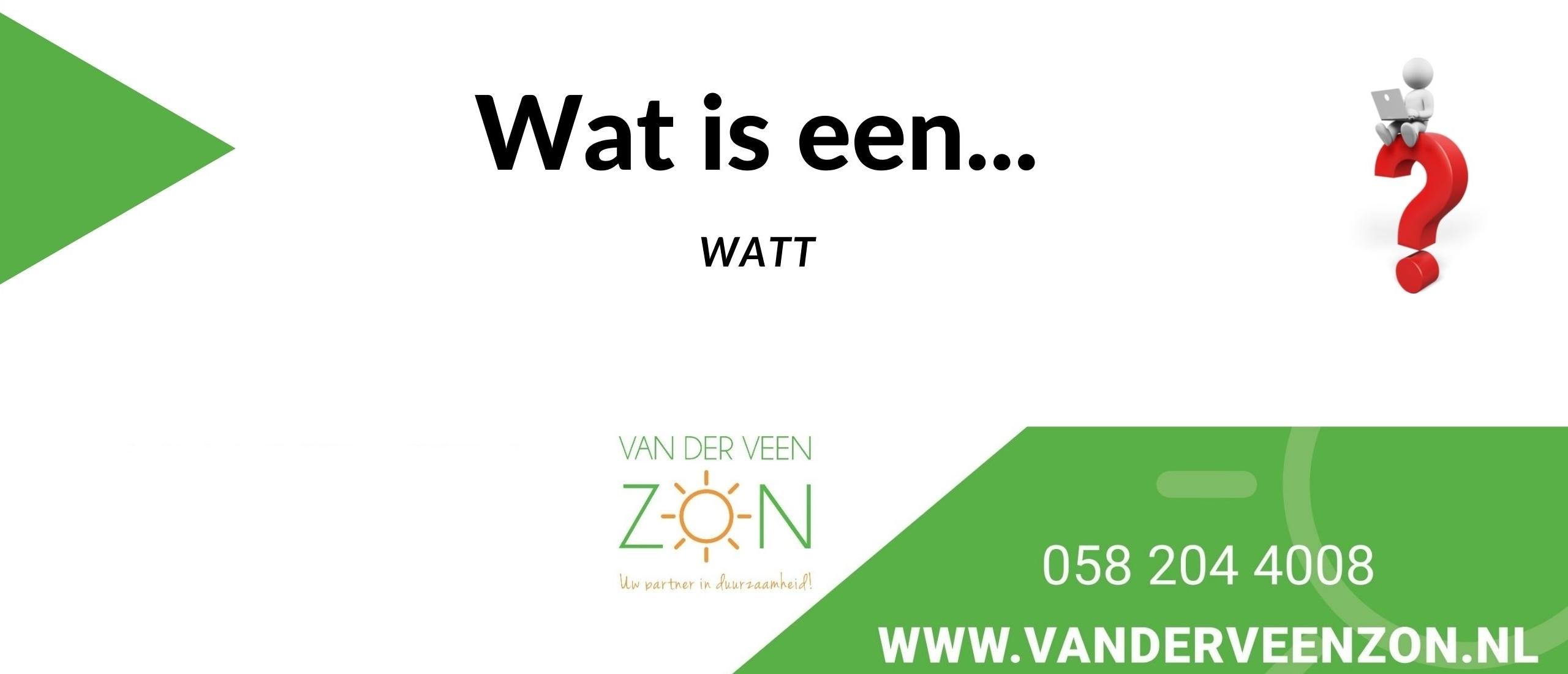 wat is Watt?