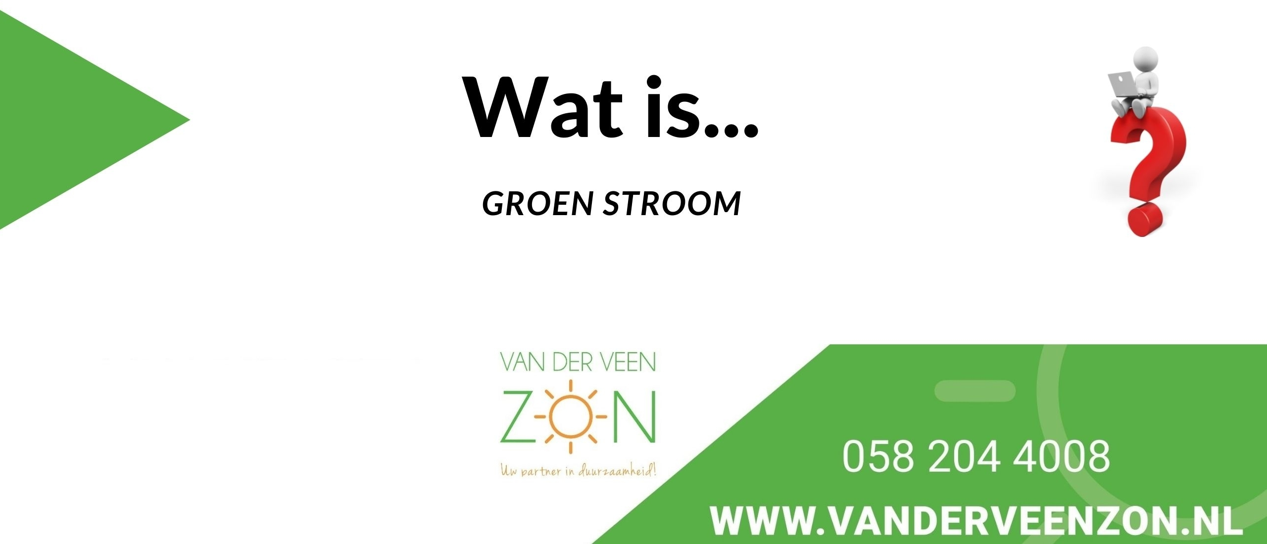 wat is groene stroom eigenlijk?