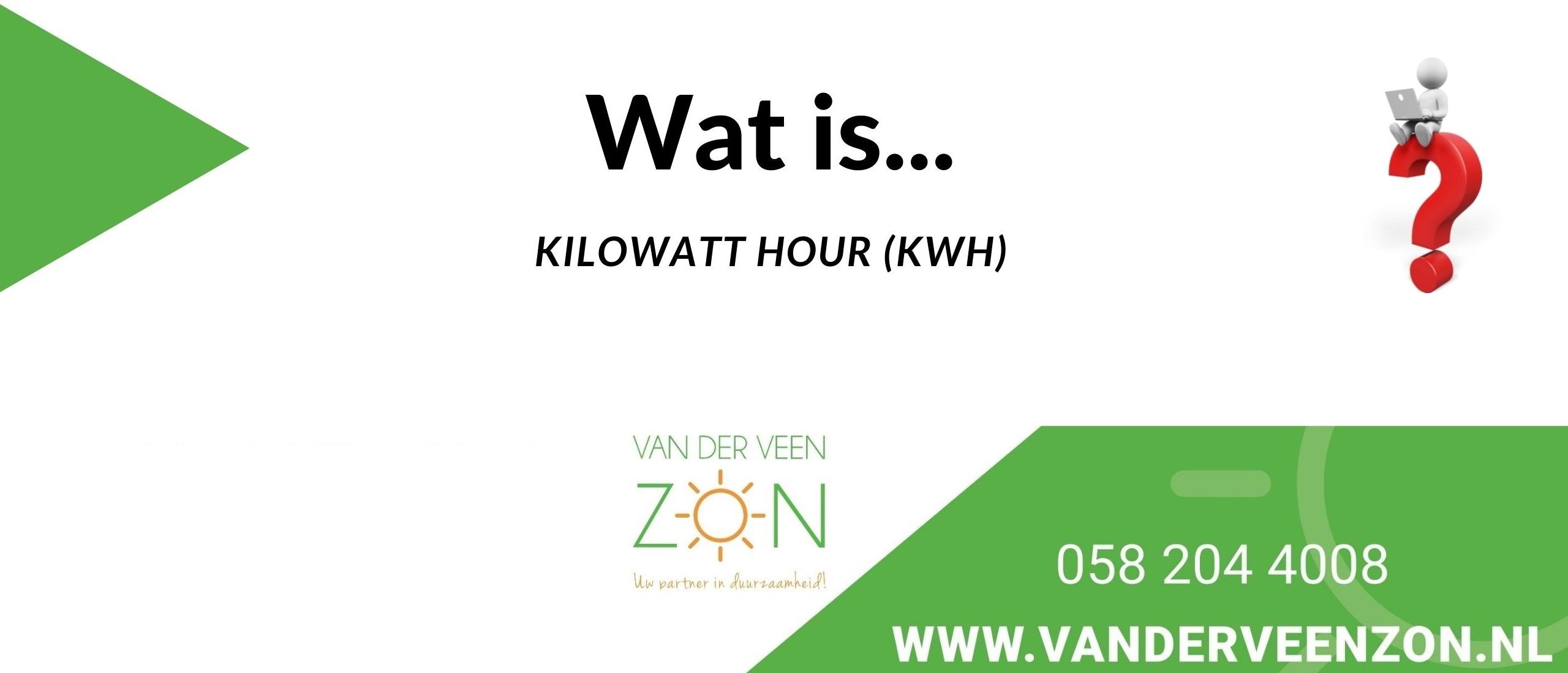 wat is kWh
