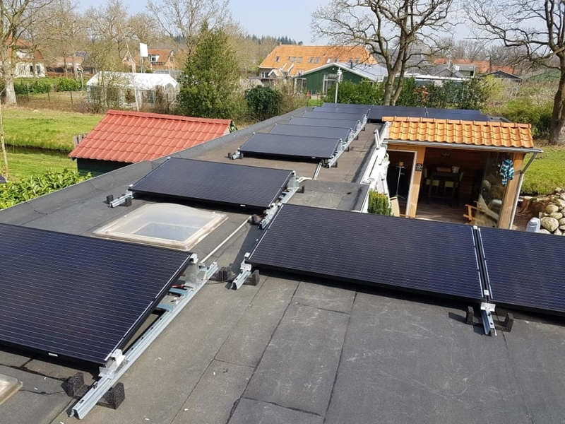 installatie zonnepanelen in Friesland
