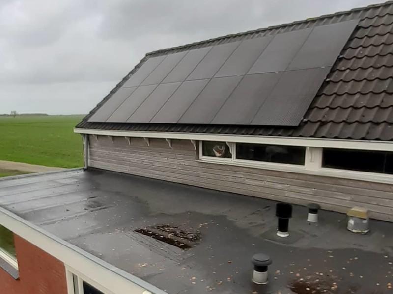 Zonnepanelen Scharsterbrug