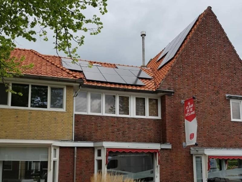 Zonnepanelen duurzaam Friesland