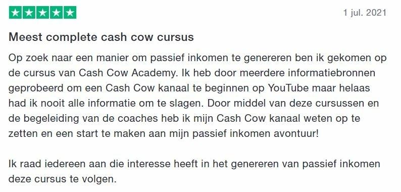 cash cow review en ervaringen