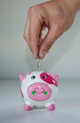 teveel geld uitgeven en sparen