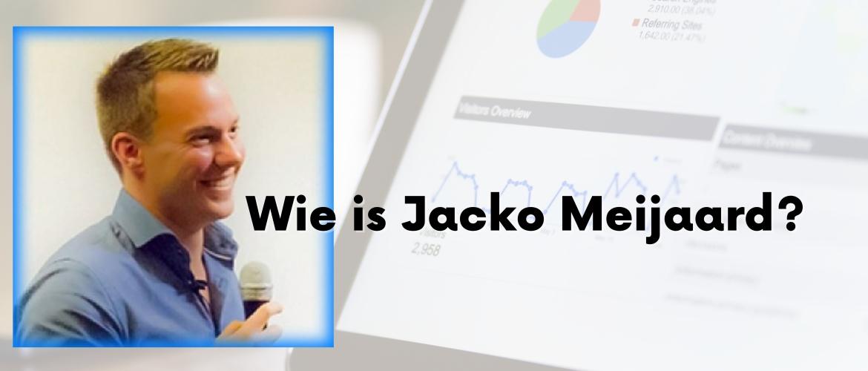 Wie is Jacko Meijaard? Dankzij Jacko bakken met geld verdienen?