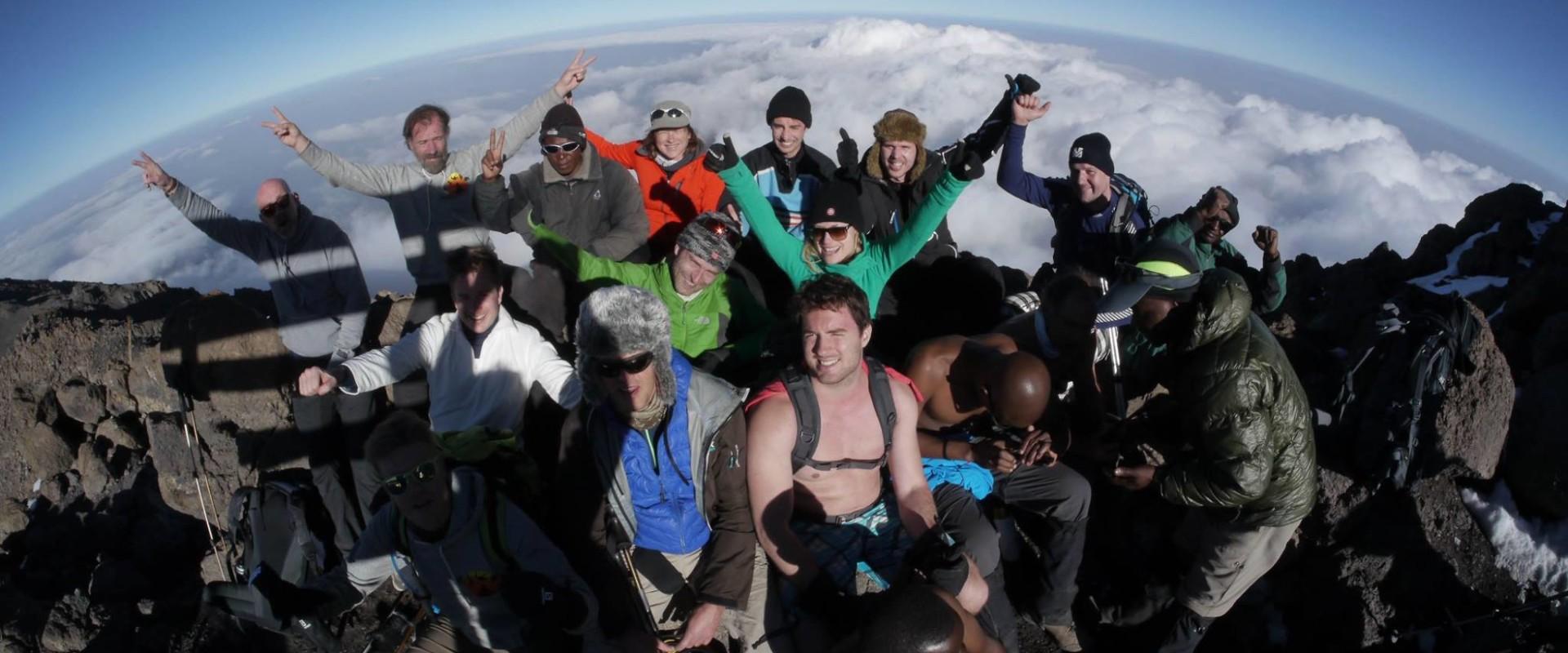 Mindset op de top van de Kilimanjaro