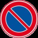 auto theorie leren verkeersbord parkeerverbod