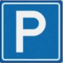 Verkeersbord parkeerplaats