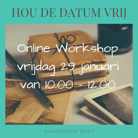Workshop 29 januari 2021