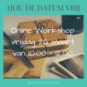 Workshop 26 maart