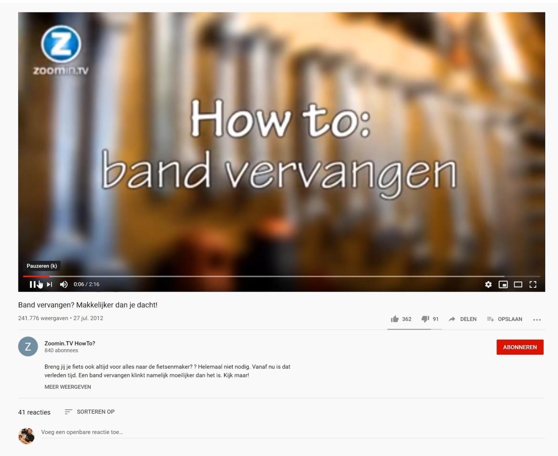 Maak instructievideo's en wordt ontdekt op Youtube!