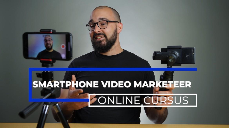 Intro van de smartphone video marketing online cursus