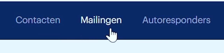 Stuur je videocontent ook zeker naar je mailinglijst
