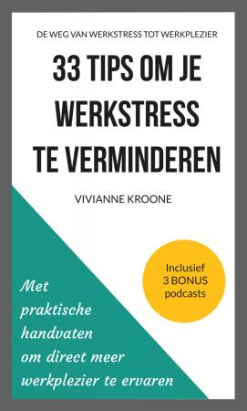Boek 33 tips om je werkstress te verminderen