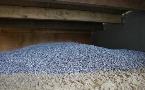 Isolatieparels onder vloer