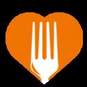 Foto met voedselbank logo