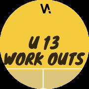 fysieke training U13