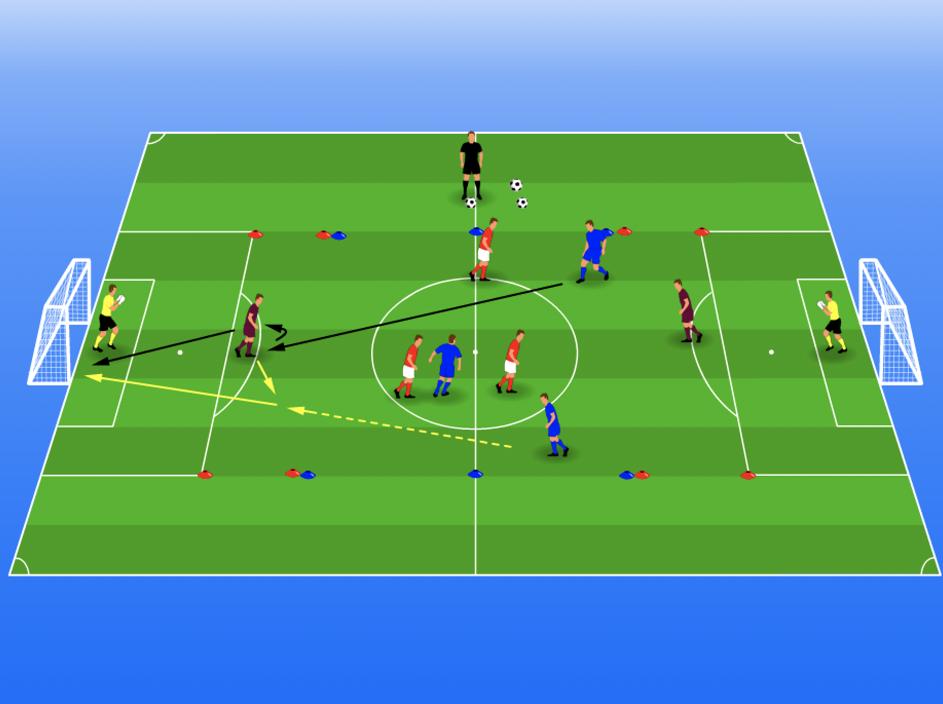 trainingsoefening diep spelen