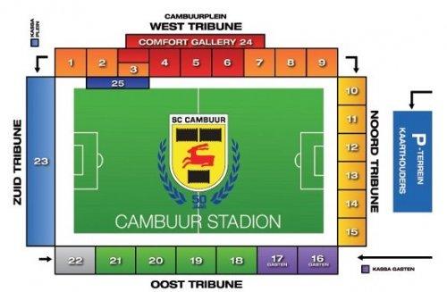 plattegrond-cambuur-stadion
