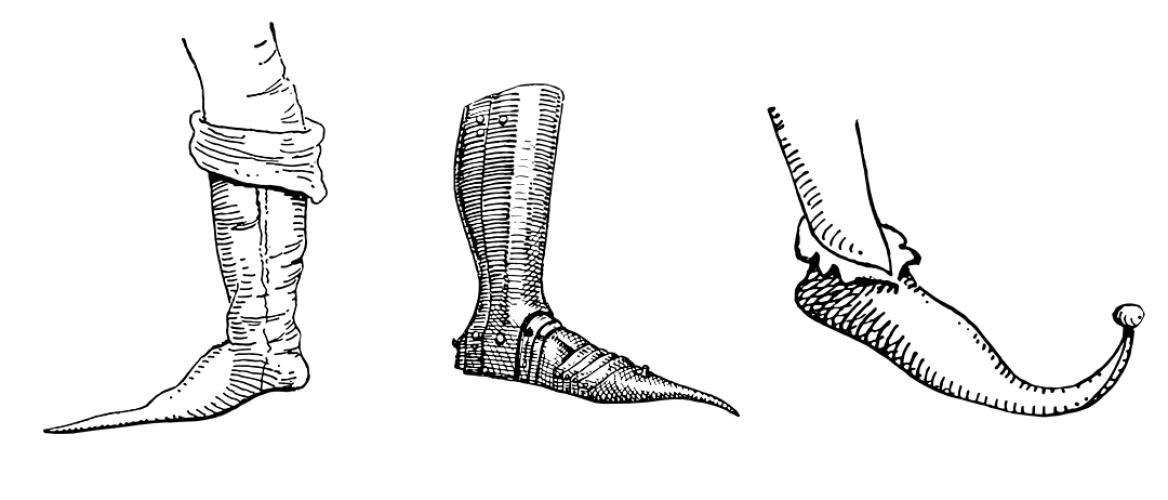 Puntschoenen vermoedelijk oorzaak hallux valgus in late middeleeuwen