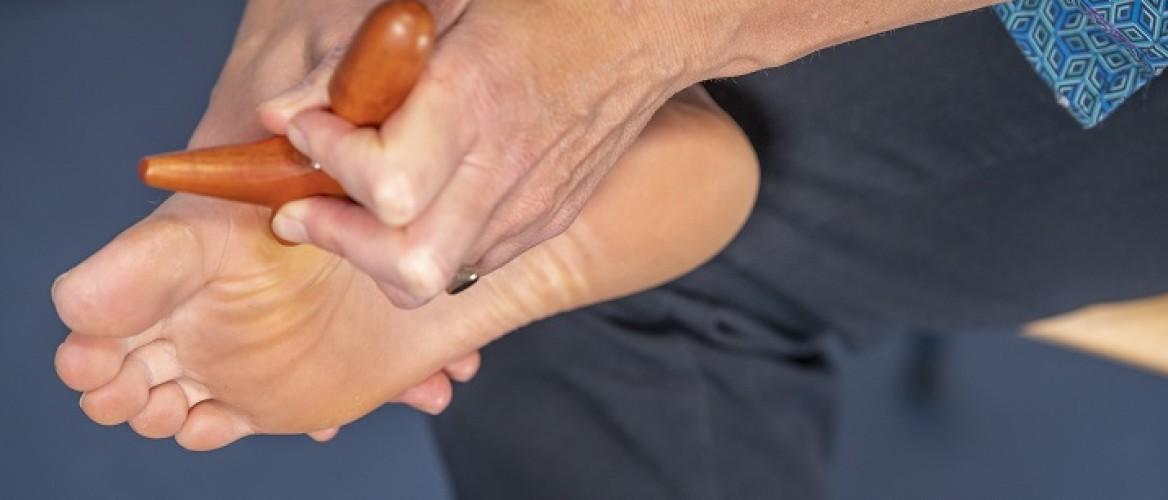 Hielspoor symptomen verergeren als je er niets aan doet. Hoe kan dat?