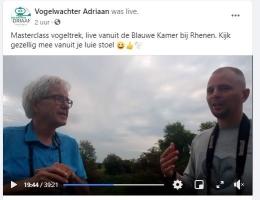 De cursusleiders: Gert en Adriaan Sleeuwenhoek