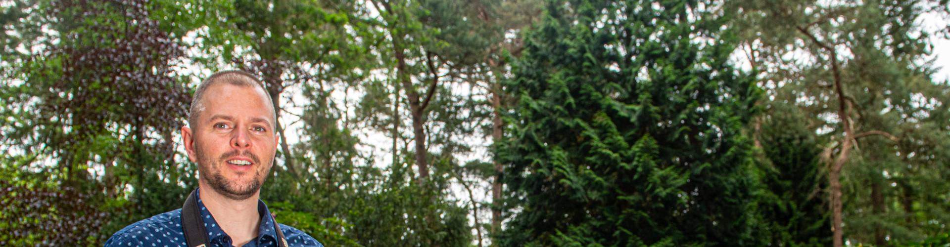 Vogelwachter Adriaan vogels spotten vogelaar Rusthof