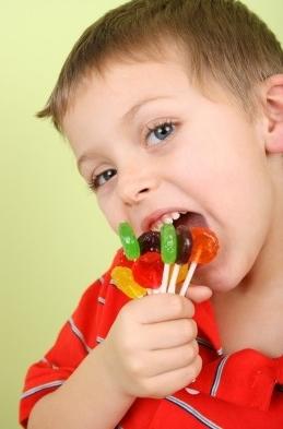 troep, suiker, ongezond